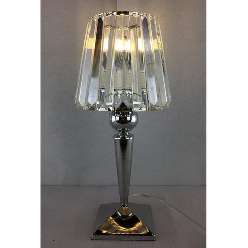 Chalice Glass Table Lamp