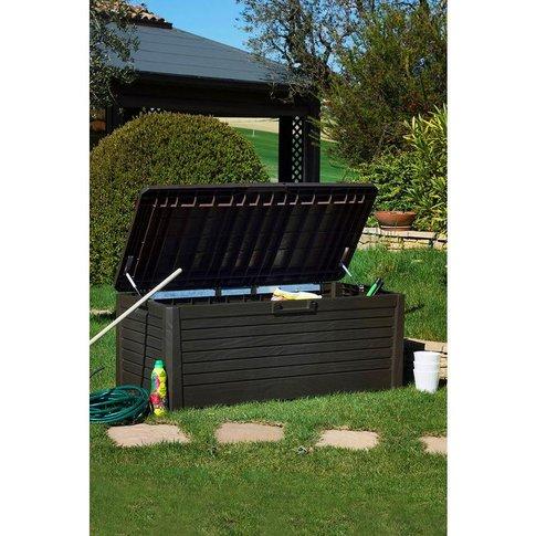 Wood Effect 550 litre Garden Storage Bench