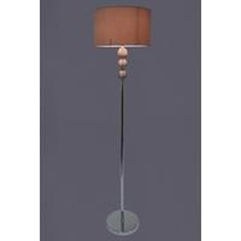 Waltham Silver Floor Lamp