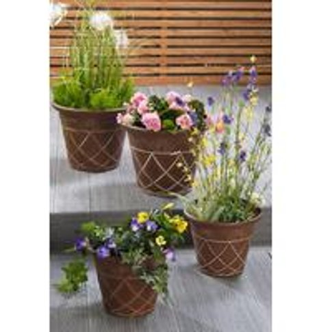 Set Of 4 Athena Planters