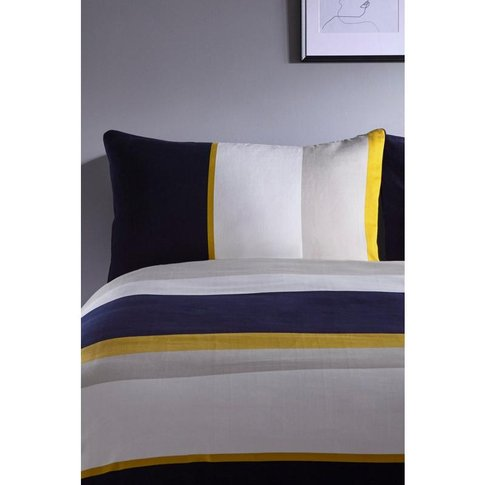 Colour Block Pillowcase Pair