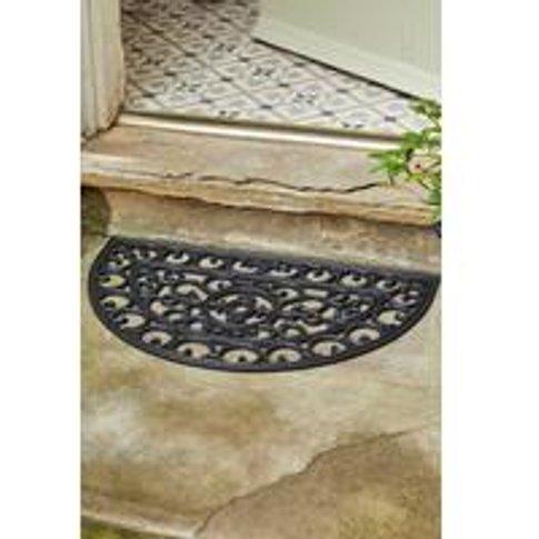 Mud Stopper Radcliffe Half-Moon Doormat