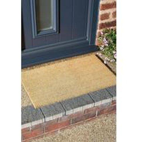 Naturelle Stretford Coir Doormat