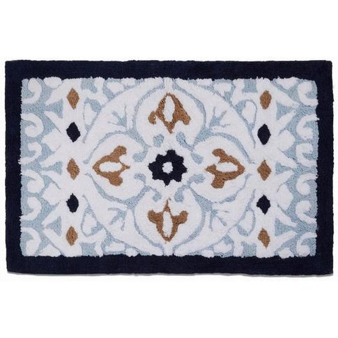 Moroccan Tile Bath Mat