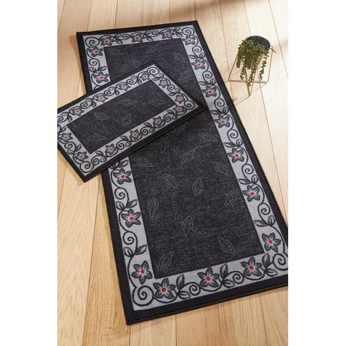 Falling Leaf Runner With Free Doormat