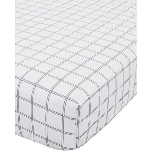 Brushed Tartan Check Fitted Sheet