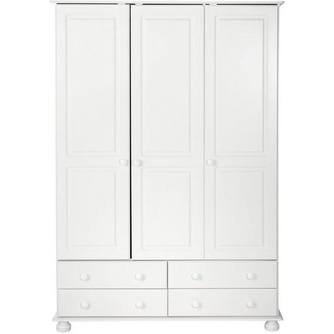 Richmond 3 Door 4 Drawer Wardrobe