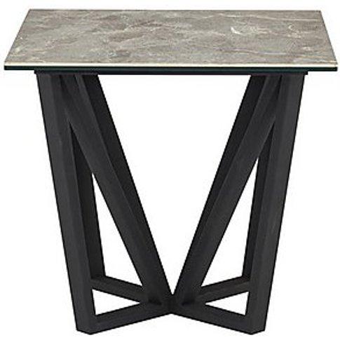 Aquila Lamp Table - Grey