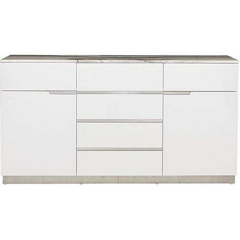 Arabella Large Sideboard - Grey