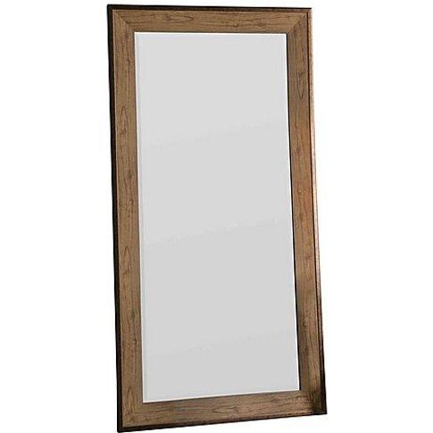 Barrington Leaner Mirror - Brown - By Furniture Village