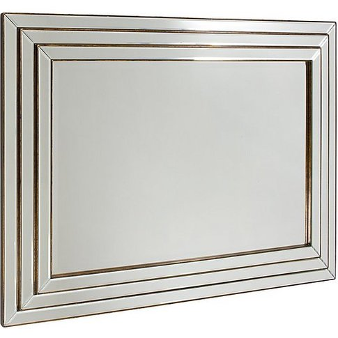 Chambery Mirror Bronze - Silver - By Furniture Village