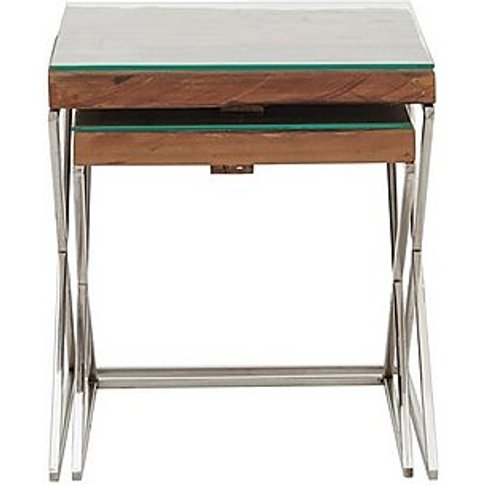 Chennai Nest Of Tables - Brown