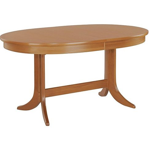Nathan - Classic Large Oval Extending Dining Table -...