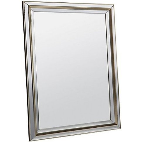 Cora Mirror - Gold - By Furniture Village