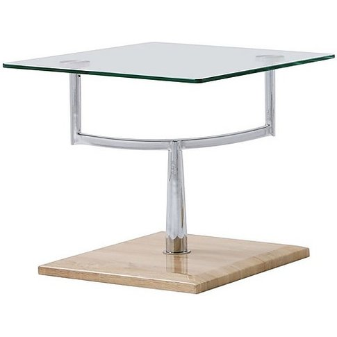 Decks Lamp Table - Brown