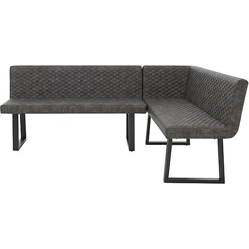 Compact Earth Right Hand Facing Corner Dining Bench