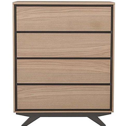 Elara 4 Drawer Chest - Grey - By Furniture Village