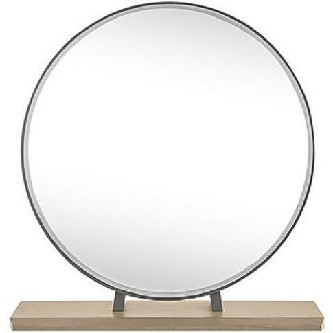 Elara Vanity Mirror - Grey - By Furniture Village