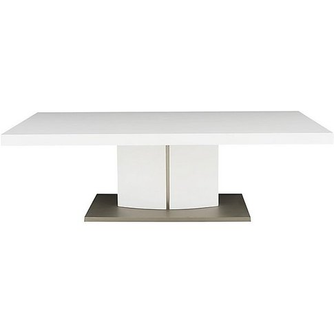 Grande Coffee Table - White - By Furniture Village