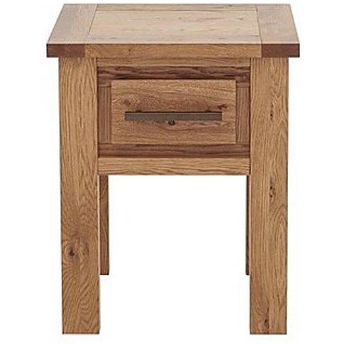 Kingswood Lamp Table - Brown