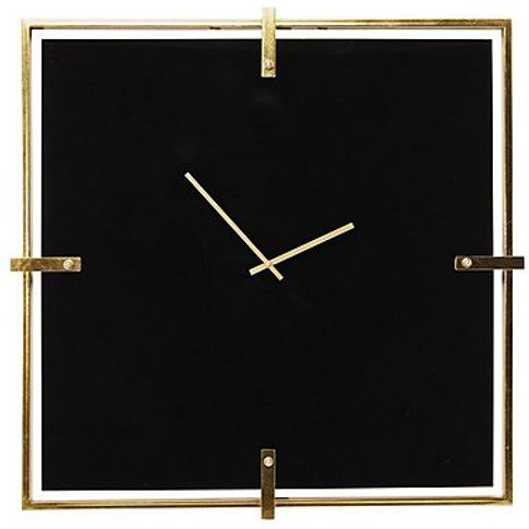 Mamba Black Wall Clock