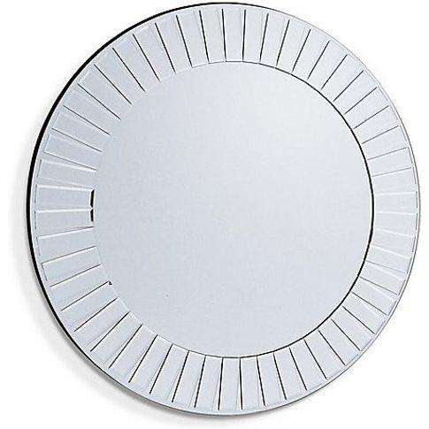 Mondello Mirror - Silver - By Furniture Village