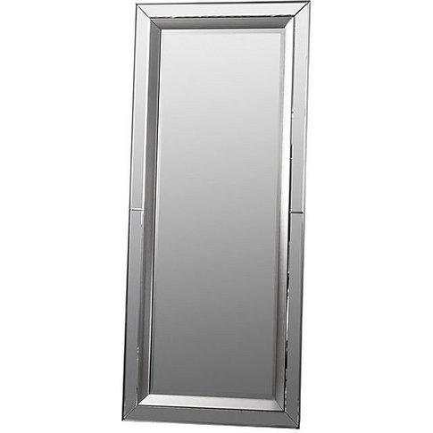 Madrid Leaner Mirror - Silver - By Furniture Village