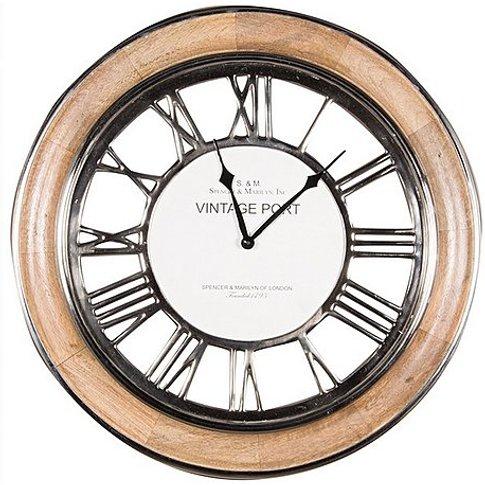 Maxwell Clock - By Furniture Village