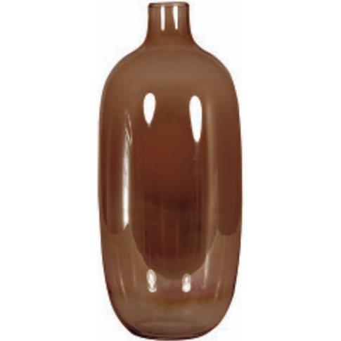 Natural Lustre Bodega Vase - Brown - By Furniture Vi...