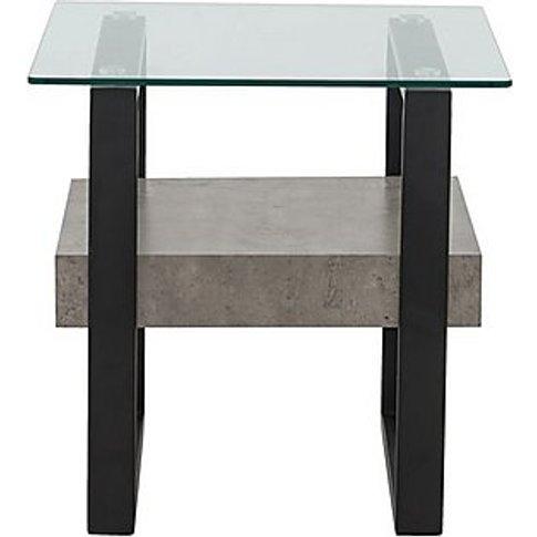 Odense Lamp Table - Black