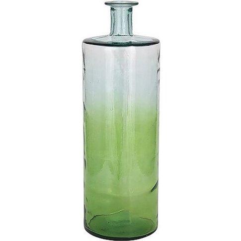 Ombre Giant Bottle Vase