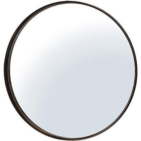 Oriel Mirror - Bronze - By Furniture Village
