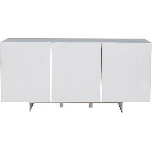 Panama Sideboard - White - By Furniture Village