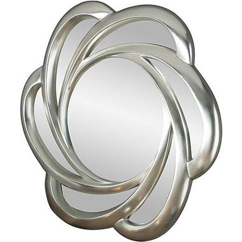 Pretzel Mirror - Silver - By Furniture Village