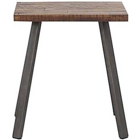 Ranger Side Table - Brown - By Furniture Village
