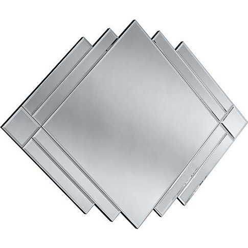 Rene Mirror - Silver - By Furniture Village
