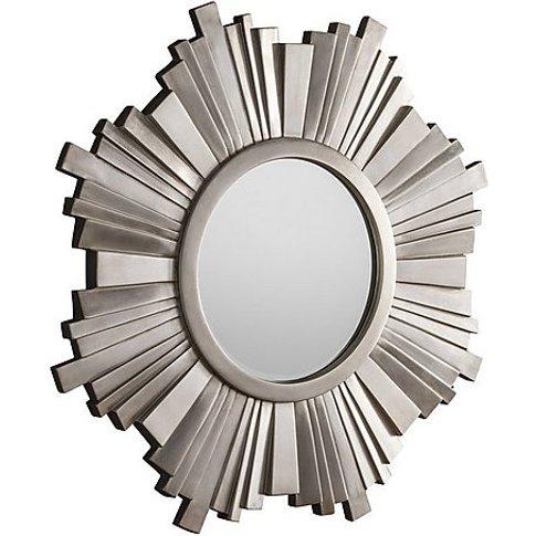 Starburst Mirror - Silver
