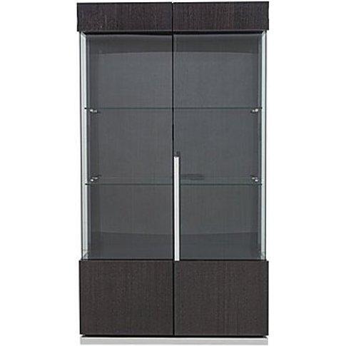 Alf - St Moritz 2 Door Curio Cabinet - Grey