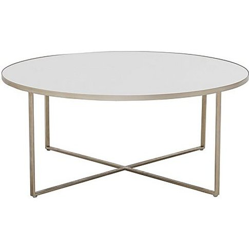 Torrance Coffee Table - Silver