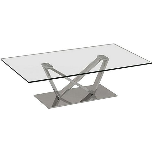 Western Coffee Table - Silver