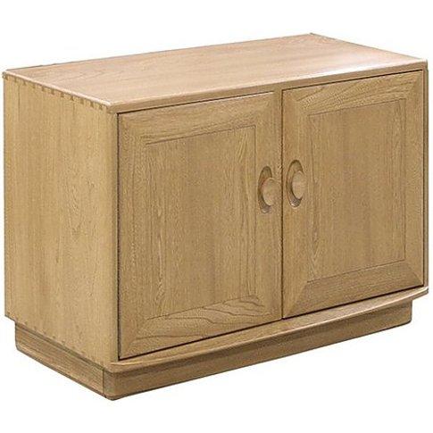 Ercol - Windsor Two Door Cabinet - Brown