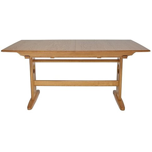 Ercol - Windsor Large Extending Dining Table - Brown
