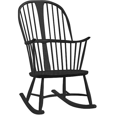 Ercol - Originals Chairmakers Rocking Chair - Black
