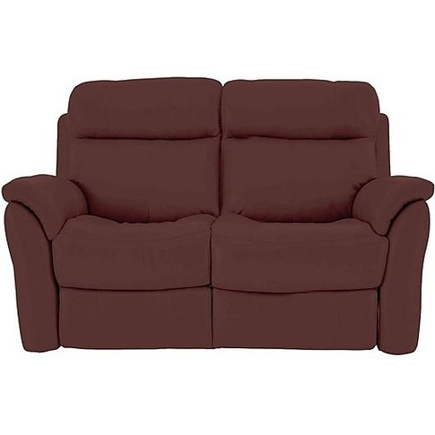 Relax Station Revive 2 Seater Leather Manual Recline...