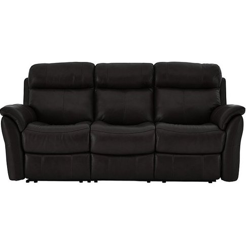 World Of Leather - Relax Station Revive 3 Seater Lea...