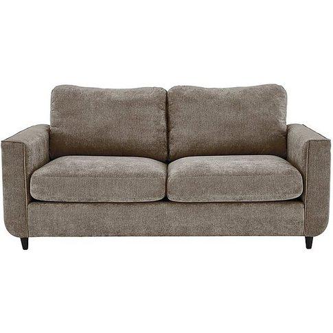 Esprit 3 Seater Fabric Sofa Bed - Beige