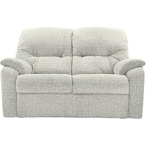 G Plan - Mistral 2 Seater Fabric Recliner Sofa - Beige