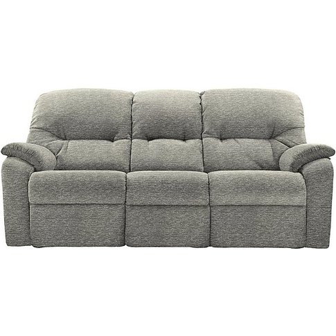 G Plan - Mistral 3 Seater Fabric Power Recliner Sofa