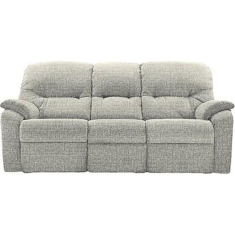 G Plan - Mistral 3 Seater Fabric Sofa