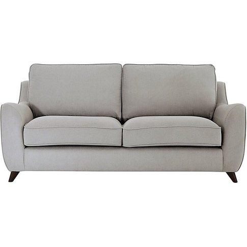 Carrara 3 Seater Fabric Sofa - Grey